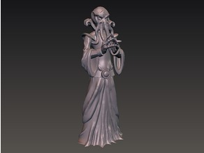 DnD miniature illithid mindflayer monster