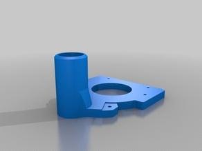 Spindle mount 55mm & Dust aspiration