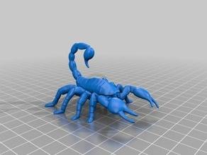さそり(Scorpion)3Dデータ