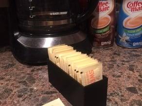 Sugar packet box