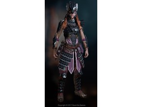Shadow Stalwart Heavy Armor Set- Aloy Cosplay Horizon Zero Dawn
