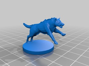 Wolf Miniature 3