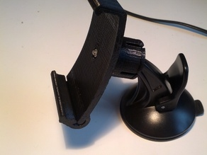 Galaxy Nexus Garmin Windshield mount