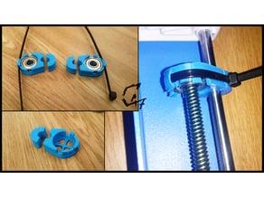 JG Aurora A1 anti-wobling for zip ties