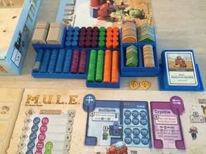 M.U.L.E. Boardgame Boxes