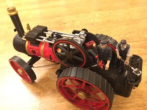 Smoke & Sound for Cabbageheart Traction Engine