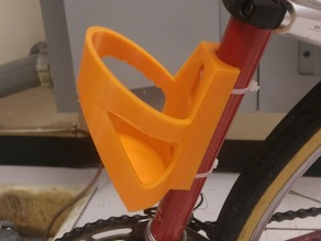 Bike water bottle holder v2!