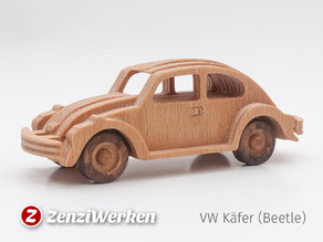 VW Beetle simplified cnc/laser