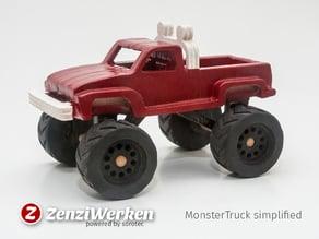 MonsterTruck simplified cnc/laser
