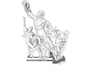 The Laocoon Goup (restored & high detail)