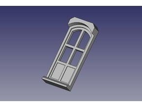Puerta Balcon encajable 2x4
