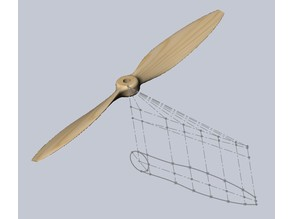Propeller for model aircraft.