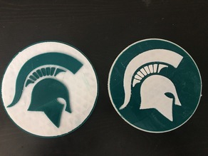 Michigan State University MSU Fridge Magnet