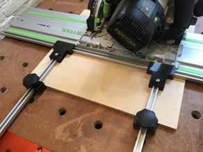 Parallel guides for (Festool) track saw
