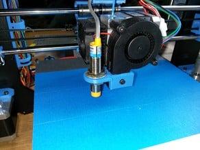 Prusa i3 inductive sensor mount