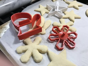 Xmas Cookie Cutter 3 pack