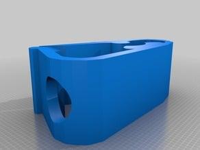 Parametrized Tube Clamp for 9mm tube