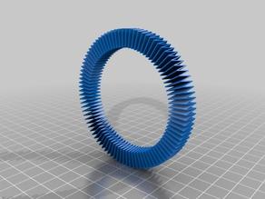 Mini ruff-like bracelet