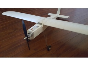 """Ugly"" Stick plane 1166mm wing span"