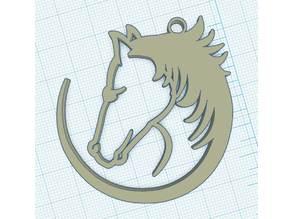 Medallion horse - Médallio cheval
