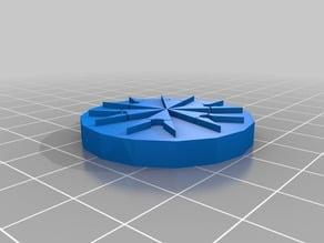 Crop circles keychain / pendant