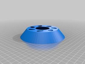 Customized parametric hyperbolic E-Cig holder