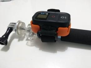 Gopro remote cradle Pole/ Support de télécommande Gopro pour perche