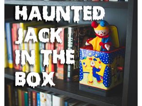 Haunted Jack in the Box - Raspberry Pi Project