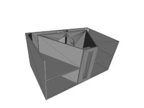 MHB-4818 1:10 model Bass Speaker