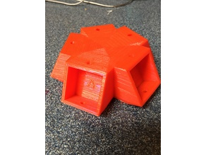 Customizable Geodesic Dome Connectors