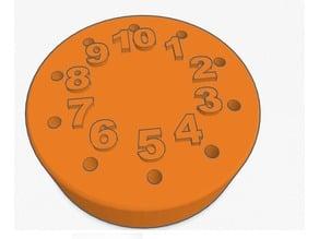 Euchre Score Disk