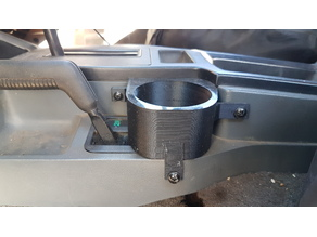 Jeep Cherokee XJ pre face-lift cup holder