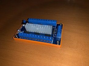 Simple Benchtop Power Board PCB Cover