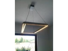 modern ceiling lamp (w/ LED strip)