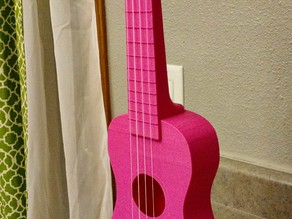 """Nukulele"" Playable soprano Ukulele, sounds great printable without supports."