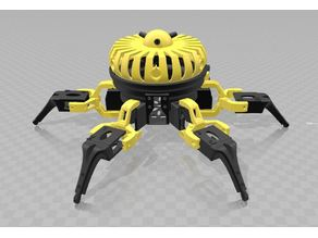 Vorpal Hexapod with flattop and turrets