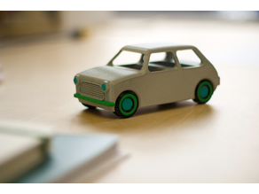 Multi-Color Car Model