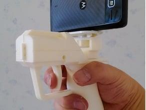 Gun-type camera holder