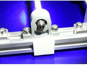 Clip/foot for CNC 20mm section frame