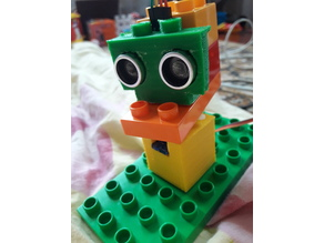 HC-SR04 Lego Duplo