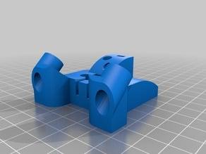 Kossel 3dprinter delta magnet mount for HIWIN MGN12 linear rail