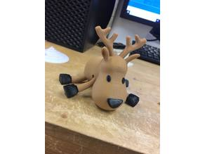 Articulating Multi-color reindeer