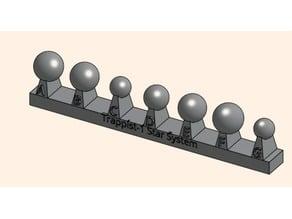 Trappist-1 Scale Model