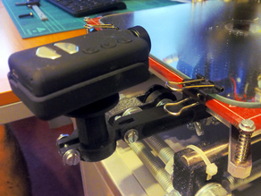 Prusa i3 support for GoPro and Mobius