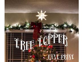 Christmas Tree Star Topper Fast Print