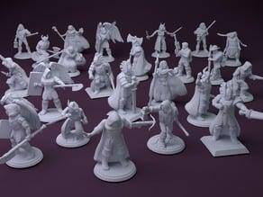 Fantasy Mini Collection (multiple poses)