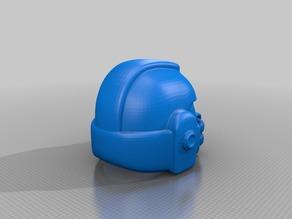 Simplified Space Marine Helmet