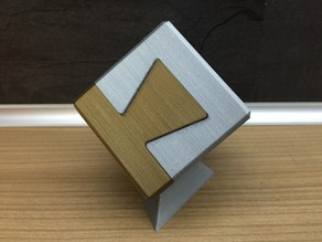 """Impossible Dovetail Joint Cube (IDJC) inspired by """"Clickspring"""""""