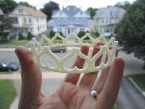 Princess Heart Crown