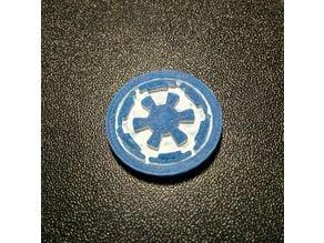 Galactic Empire Shopping Cart Coin